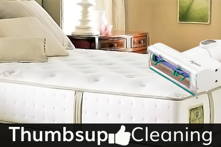 Mattress Spots Cleaning Round Corner