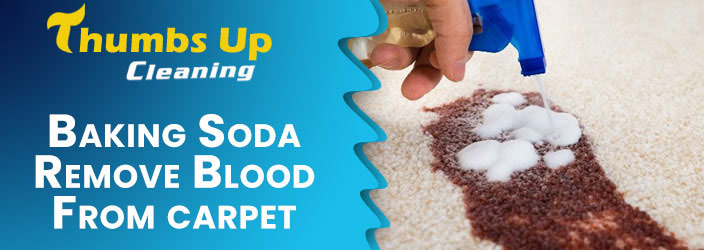 Remove Blood from Baking Soda